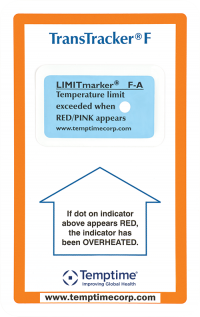 Single use PDF Temperature Data Logger