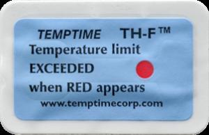 Shipment temperature indicator